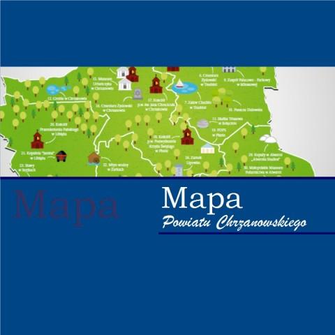 Mapa Powiatu Chrzanowskiego